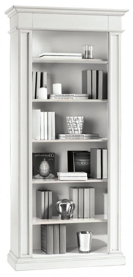Βιβλιοθήκη Ξύλινη με κολονάκια  Country Style  93x40x205 εκ.
