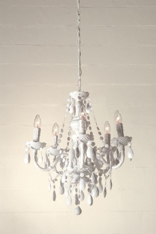 5 φώτα πολυέλαιος JEWEL WHITE