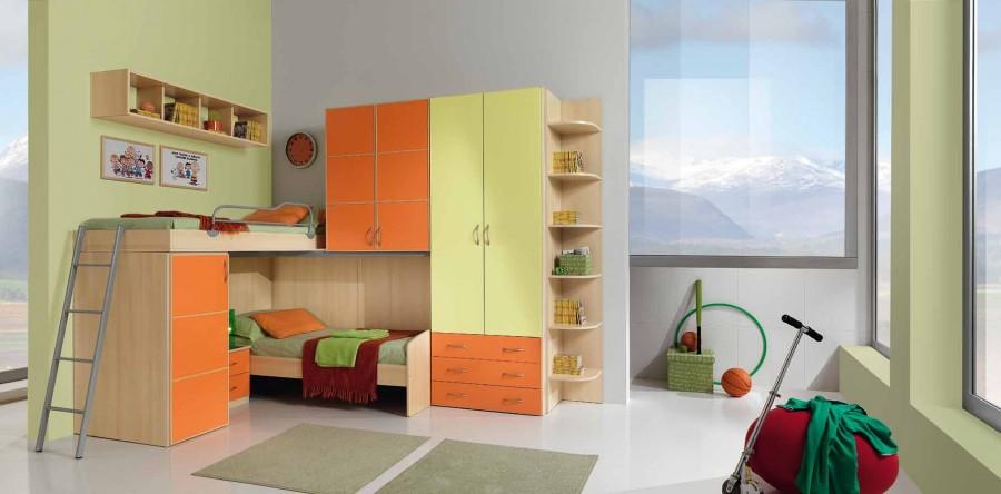 Παιδικό δωμάτιο Omnia 025