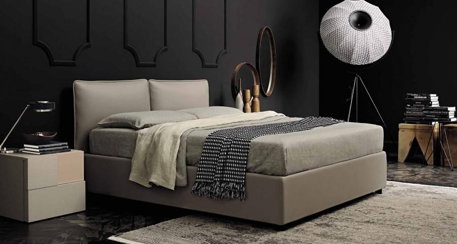Κρεβάτι Twin με αποθηκευτικό χώρο.