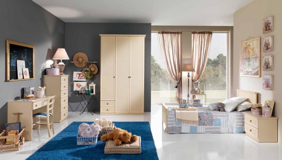 Παιδικό  Κλασικό Υπνοδωμάτιο Ninfea 003