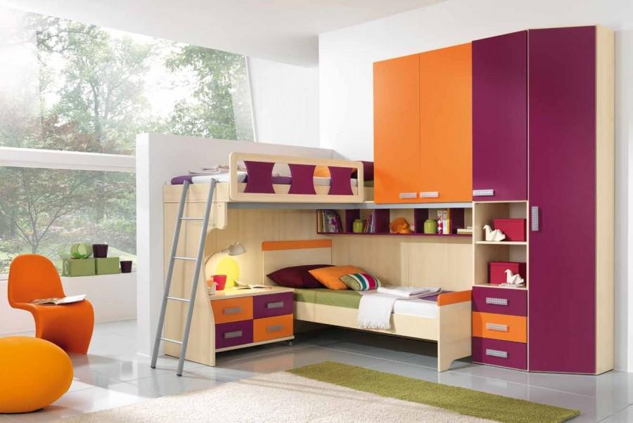 Παιδικό δωμάτιο Omnia 075