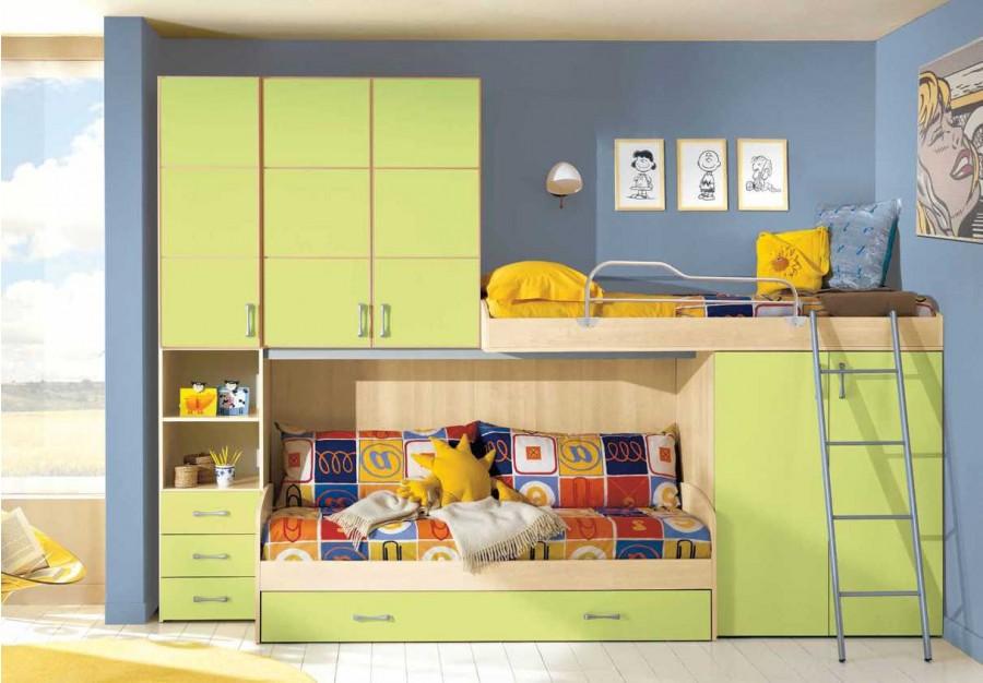 Παιδικό δωμάτιο Omnia 056