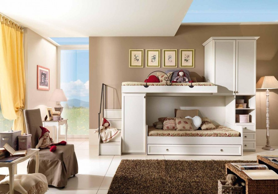 Παιδικό  Κλασικό Υπνοδωμάτιο Ninfea 001
