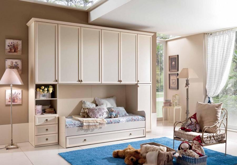 Παιδικό  Κλασικό Υπνοδωμάτιο Ninfea 002