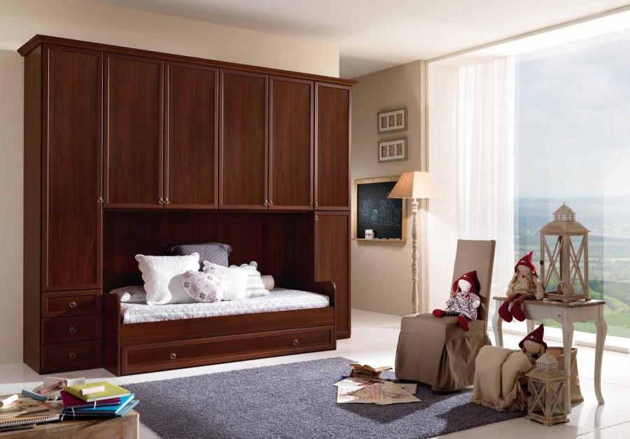 Παιδικό  Κλασικό Υπνοδωμάτιο Ninfea 006