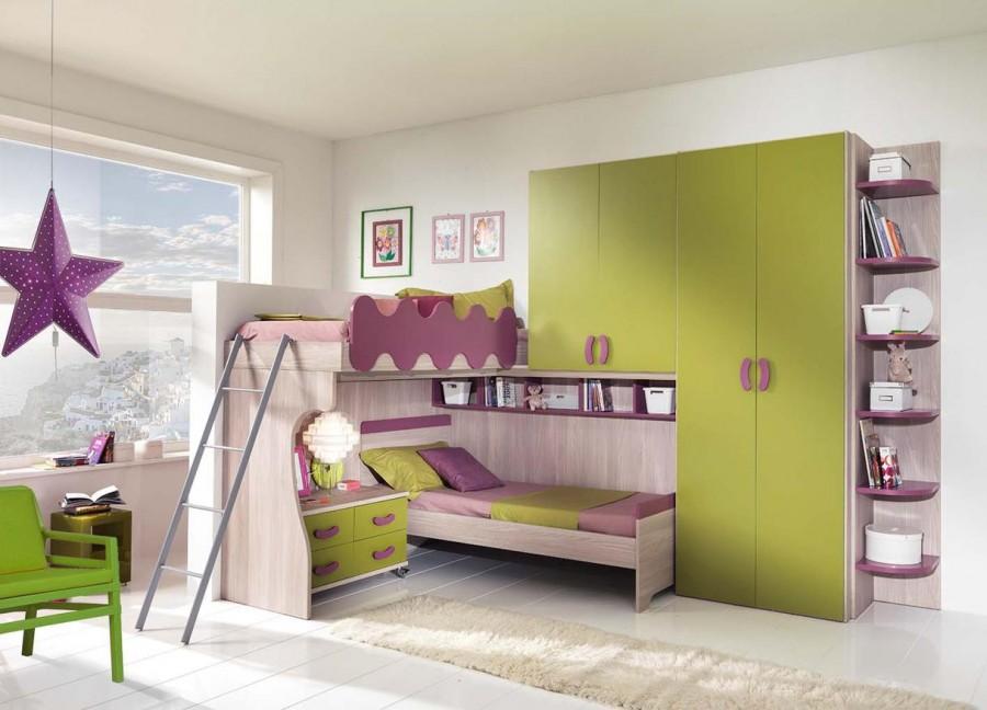 Παιδικό δωμάτιο Full Comp. H