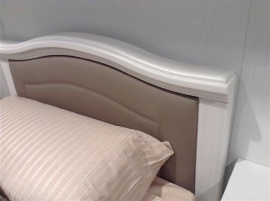 Παιδικό Κρεβάτι ISABEL Ντυμένο με οικολογικό δέρμα