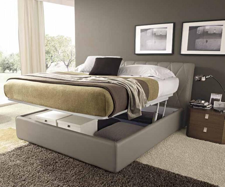 Κρεβάτι Scozia με αποθηκευτικό χώρο