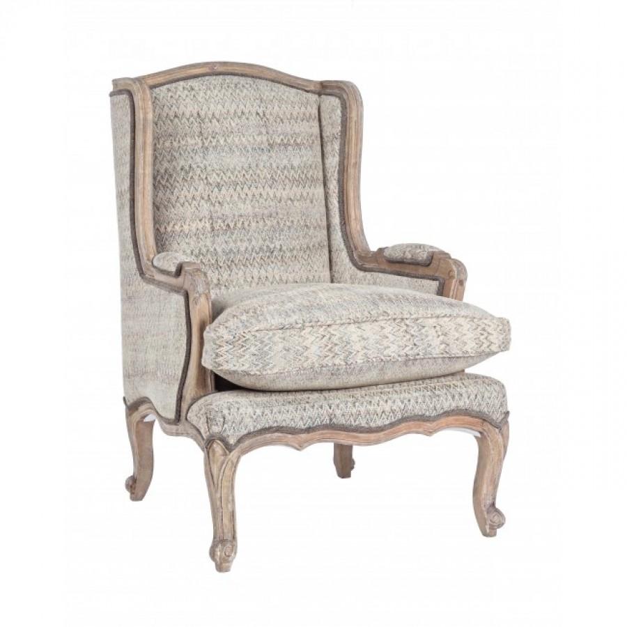 Πολυθρόνα Elodie από μασίφ Μάνγκο ξύλο 70x72x102 εκ.