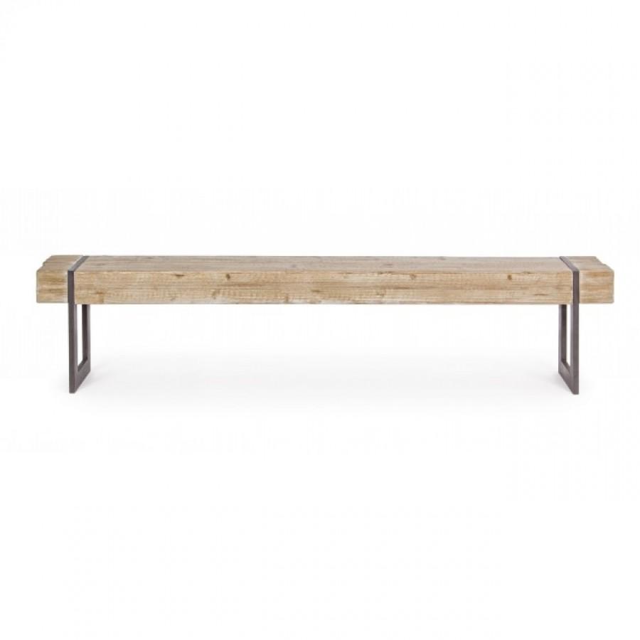 Παγκάκι GARRETT από ξύλο έλατο 200x30x45 εκ.