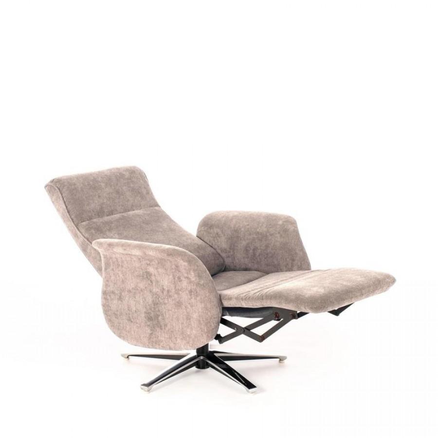 Πολυθρόνα Relax Ανακλινόμενη σε 2 Χρωματισμούς 75x70,5x104 εκ.
