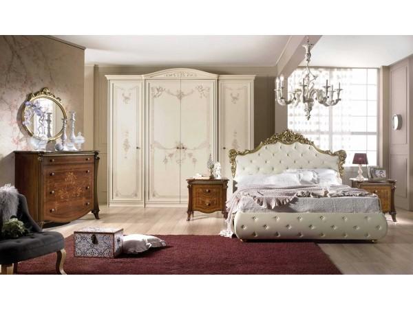 Κλασικό Υπνοδωμάτιο Compose1 ντυμένο σε οικολογικό δέρμα καπιτονέ