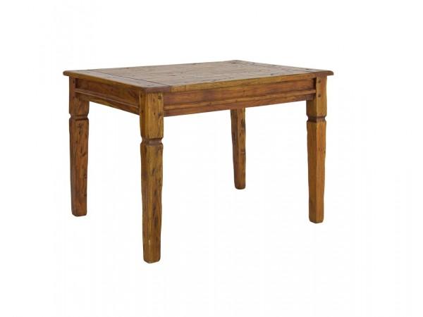 Τραπέζι CHATEUX από μασίφ indian ξύλο 90x90x76 εκ