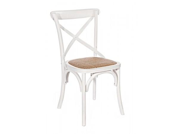 Καρέκλα  CROSS BIANCO 46x42x87 εκ.