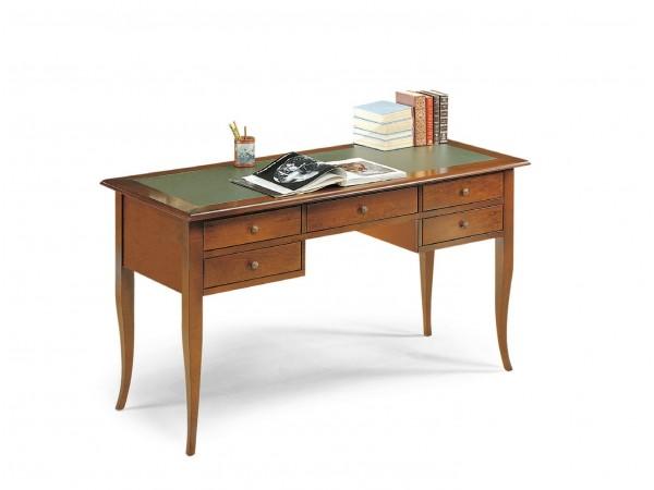 Γραφείο-Σεκρετέρ Classical Collection 5 Cassetti με οικολογικό δέρμα