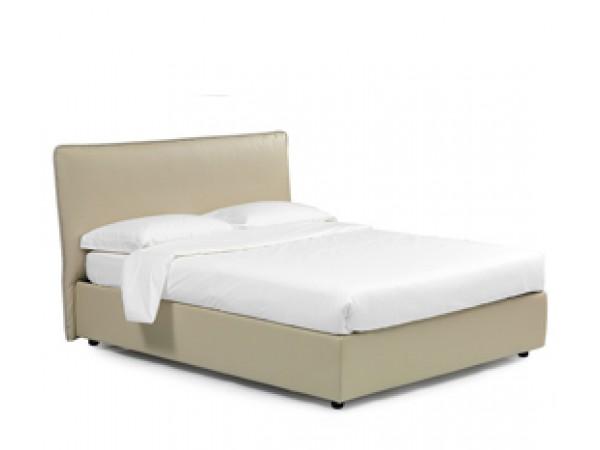 Κρεβάτι LUANA ντυμένο με αφαιρούμενο κάλυμμα