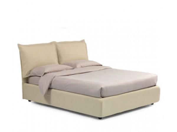 Κρεβάτι MELANY ντυμένο με αφαιρούμενο κάλυμμα