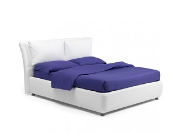 Κρεβάτι MEMPHIS ντυμένο με αφαιρούμενο κάλυμμα