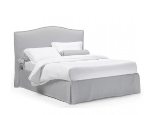 Κρεβάτι PEONIA με shabby chic σχεδιασμό με αφαιρούμενο κάλυμμα