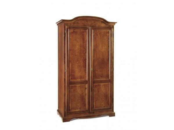 Ντουλάπα Ανοιγόμενη Ξύλινη 2 πορτές Classical Collection 107x55x197 εκ.