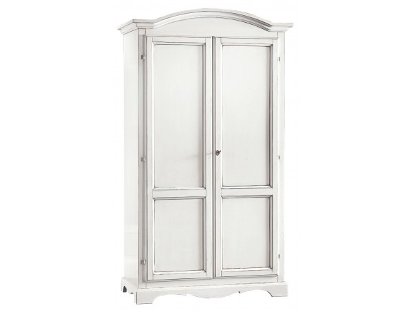Ντουλάπα Ανοιγόμενη Ξύλινη 2 πόρτες Country Style 107x55x197 εκ.