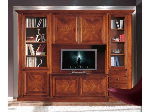 Επιπλοσύνθεση Ξύλινη με 5 πόρτες Classical Collection