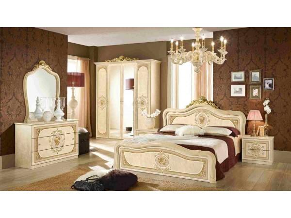 Κλασικό Υπνοδωμάτιο ALICE IVORY