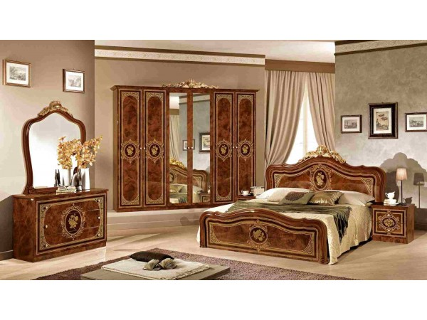 Κλασικό Υπνοδωμάτιο ALICE NOCE