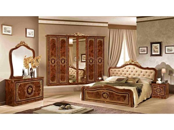 Κλασικό Υπνοδωμάτιο ALICE NOCE με καπιτονέ