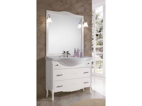 Έπιπλο Μπάνιου Ξύλινο ANNA Bianco 105