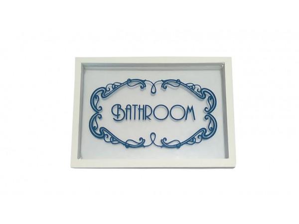 Ταμπέλα μπάνιου Bathroom