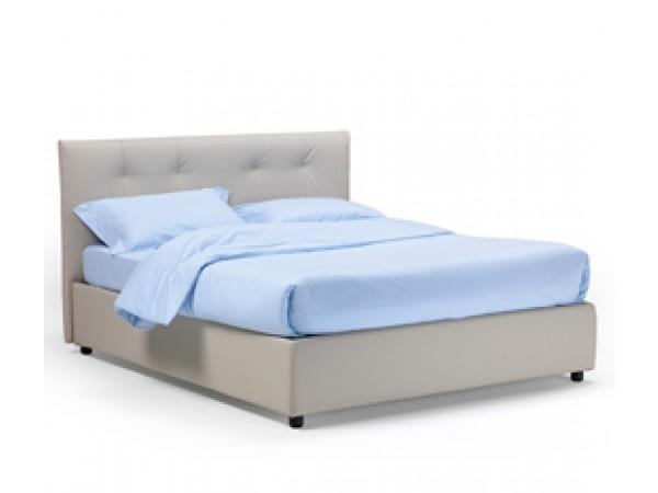 Κρεβάτι CAPRI με μαλακό κεφαλάρι και χειροποίητες ραφές