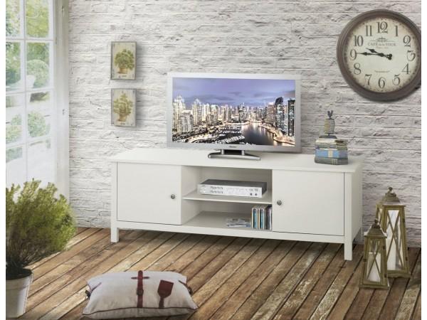 Έπιπλο τηλεόρασης Ξύλινο Classic Collection με 2 πόρτες