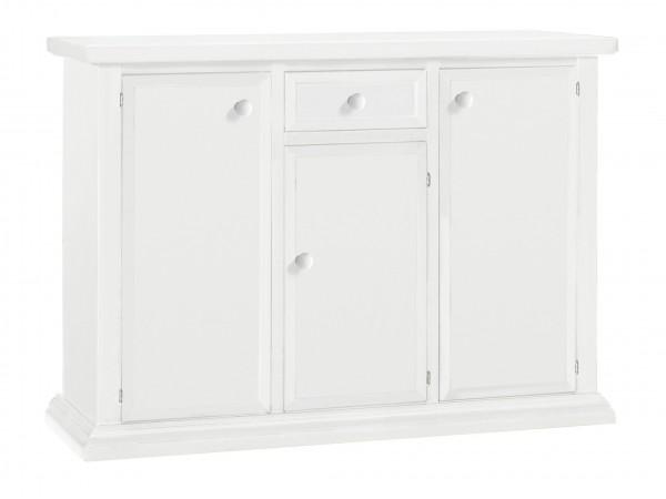 Μπουφές Ξύλινο Classic Collection με 3 πόρτες και 1 συρτάρι 120x40x88 εκ.