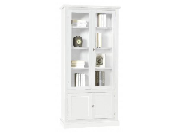 Βιτρίνα Ξύλινη Classic Collection με 4 πόρτες
