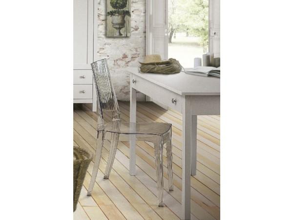 Γραφείο Country Collection από ξύλο σε λευκό ματ  χρωματισμό 114x51x81 εκ.