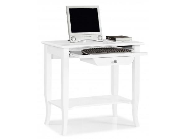 Γραφείο Υπολογιστή Ξύλινο Country Style με 1 συρτάρι 85x49x79 εκ.