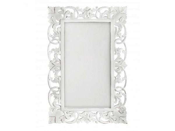 Καθρέφτης DALILA ANTIQUE WHITE 60X90