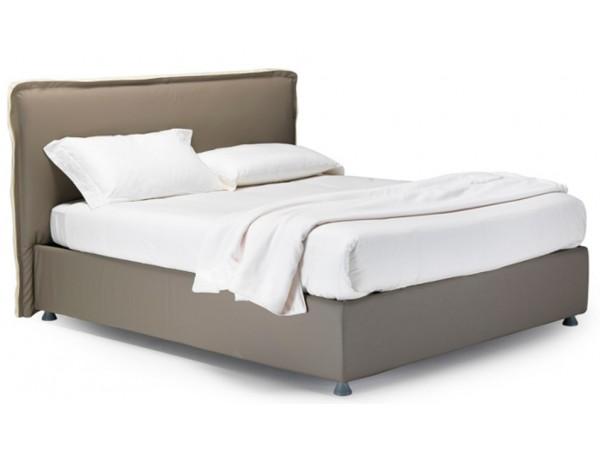 Κρεβάτι GIOVE ντυμένο με αφαιρούμενο κάλυμμα