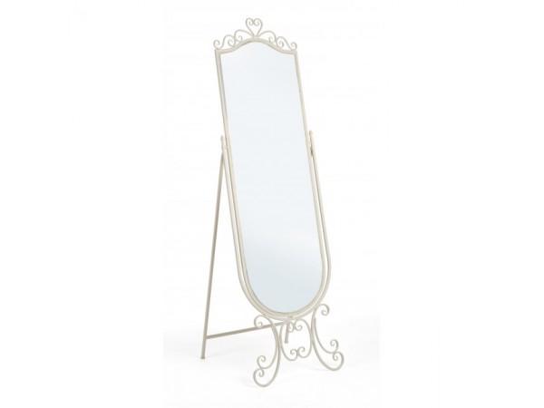 Καθρέφτης Επιδαπέδιος GISELLE CREAM 51x50x165 εκ.