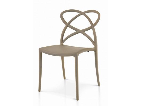 Καρέκλα Grigio Caldo 55x50x82 εκ