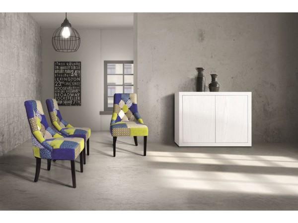 Πολυθρόνα Υφασμάτινη Yellow Multicolor