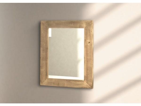 Καθρέφτης ξύλινος modern style 97x76 εκ.