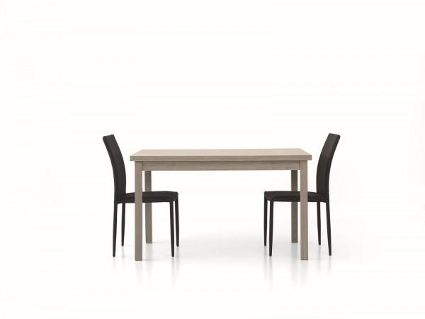 Τραπέζι από ξύλο επεκτεινόμενο modern style σε rovere grigio χρωματισμό 130x80x76 εκ.