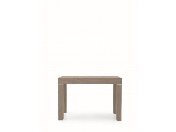 Κονσόλα-Τραπεζάρια Επεκτεινόμενη Ξύλινη Tortora 90x50x75 εκ.