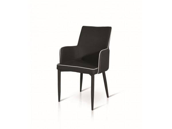 Καρέκλα-πολυθρόνα Nero Stripe Modern Collection
