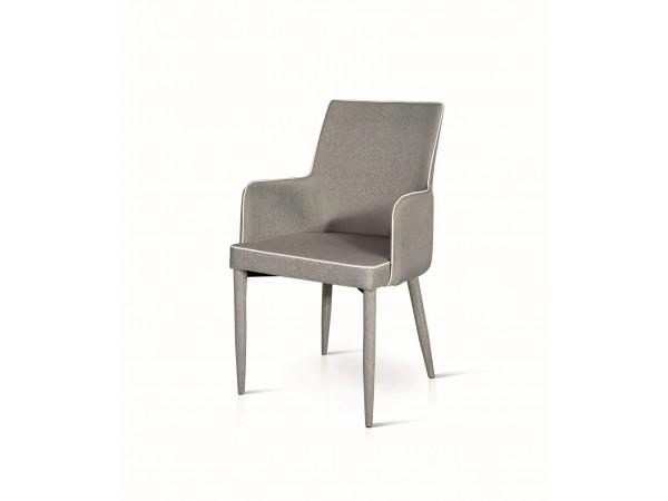 Καρέκλα-πολυθρόνα Grigio stripes Modern Collection