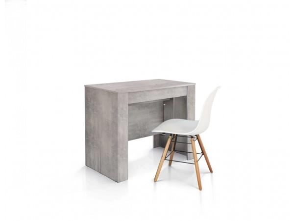 Κονσόλα από HPL Επεκτεινόμενη Modern Collection Style σε Beton 90x50 εκ.