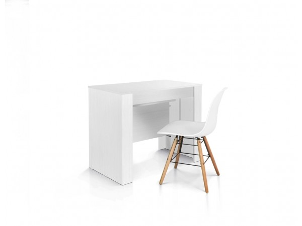 Κονσόλα από HPL Επεκτεινόμενη Modern Collection Style σε Bianco 90x50 εκ.
